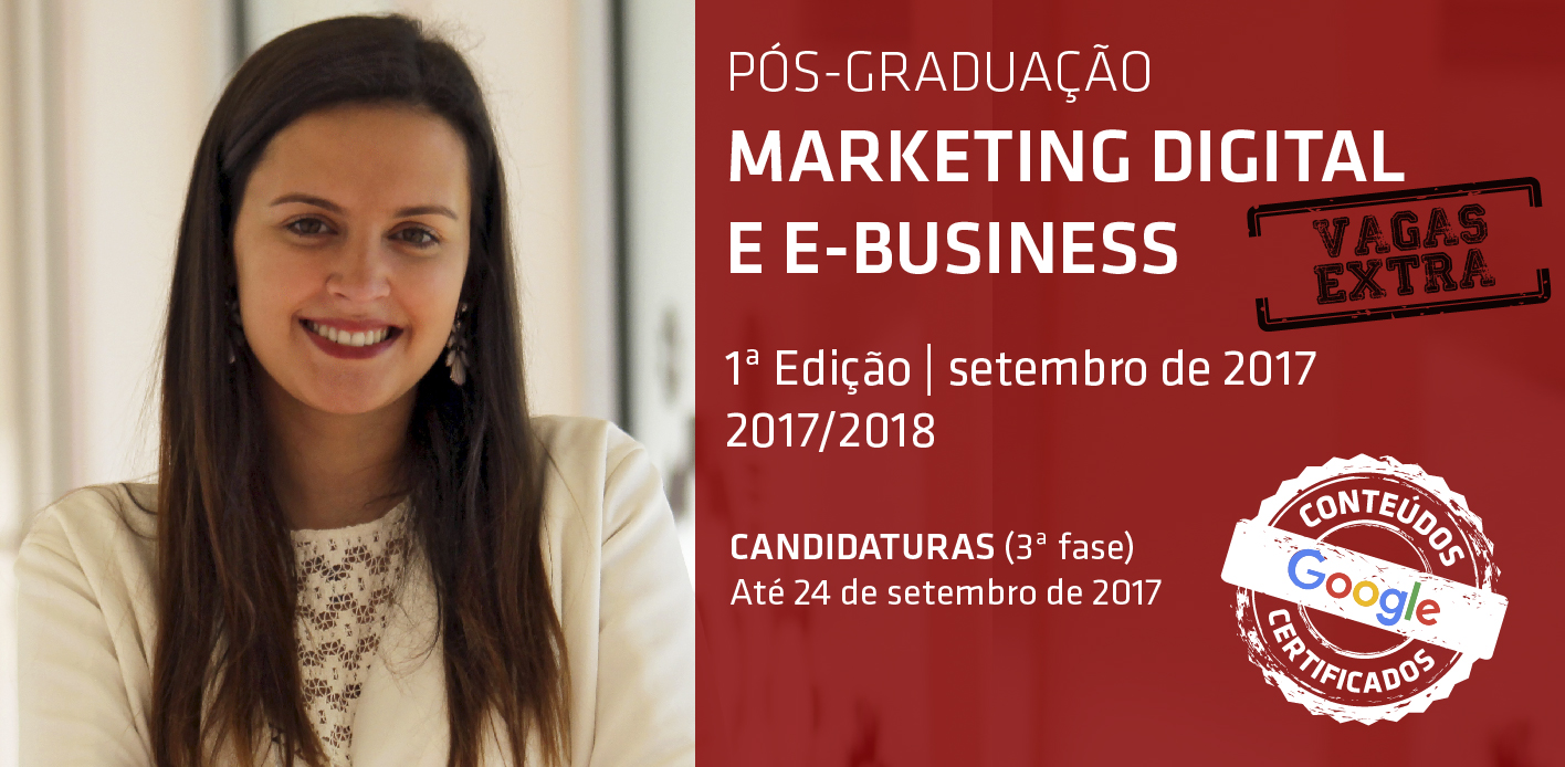 Pós-Graduação Marketing Digital e E-Business